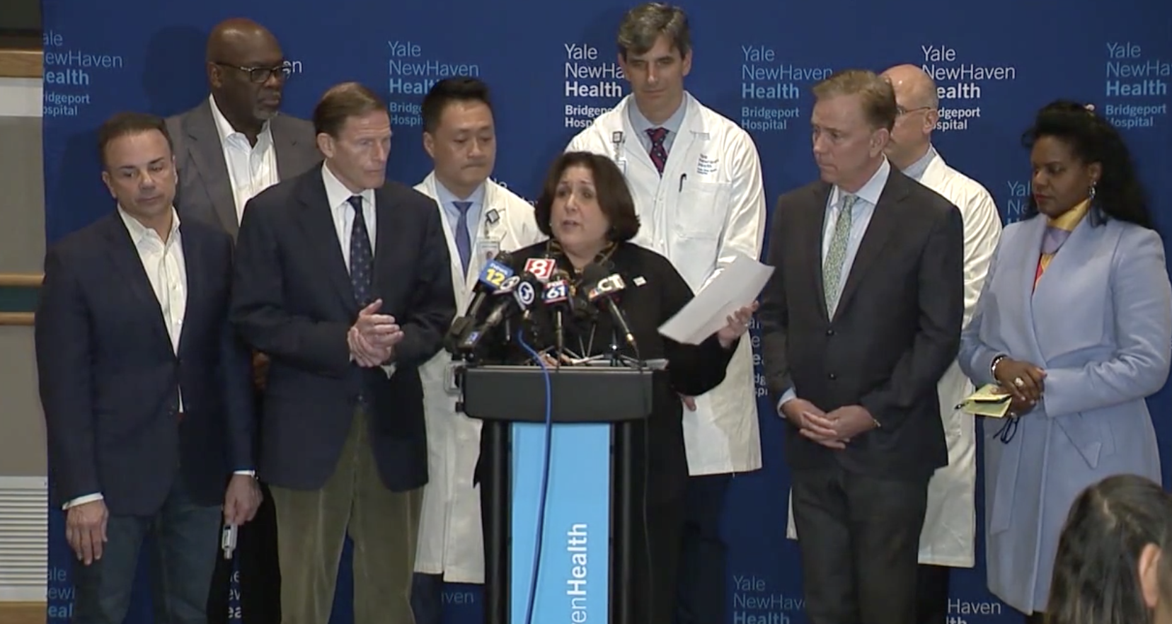 Doctor who made rounds at Bridgeport Hospital has tested positive for COVID-19