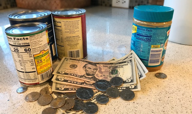 Cash donations better than canned in assisting with a disaster