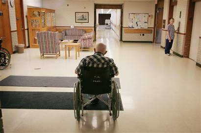 COVID's painful question at nursing homes: When will a visit be safe?