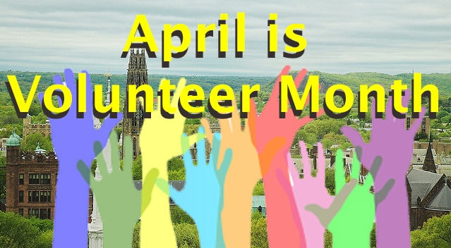Even at moment of social distancing, it's 'Volunteer Month' and 'Child Abuse Prevention Month'