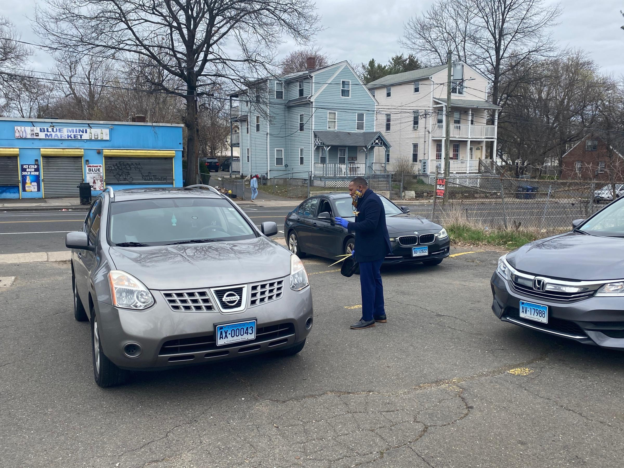Hartford church offers social distance-friendly 'drive-in' Easter service