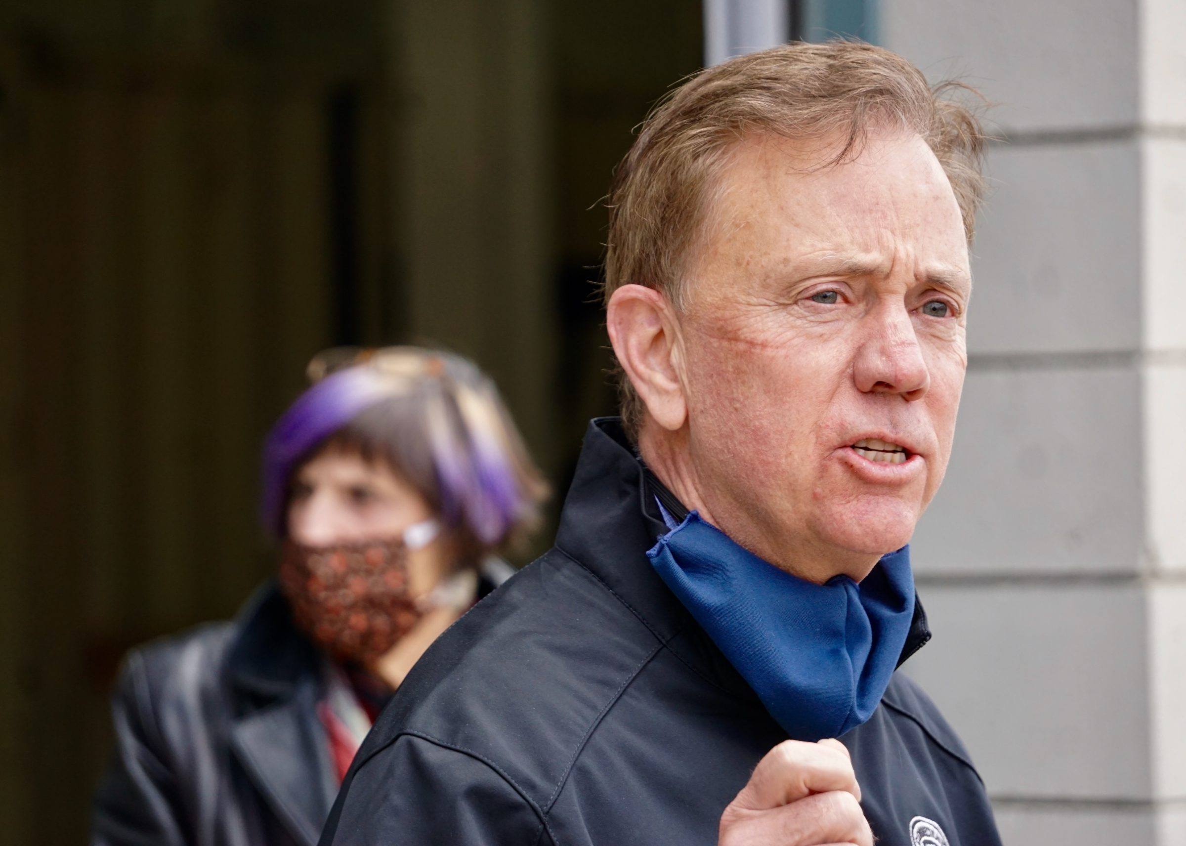 Lamont says key to reopening is 'testing and masks'