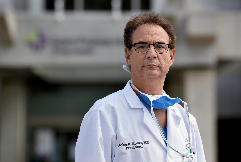 Rodis departs post as president of Saint Francis Hospital