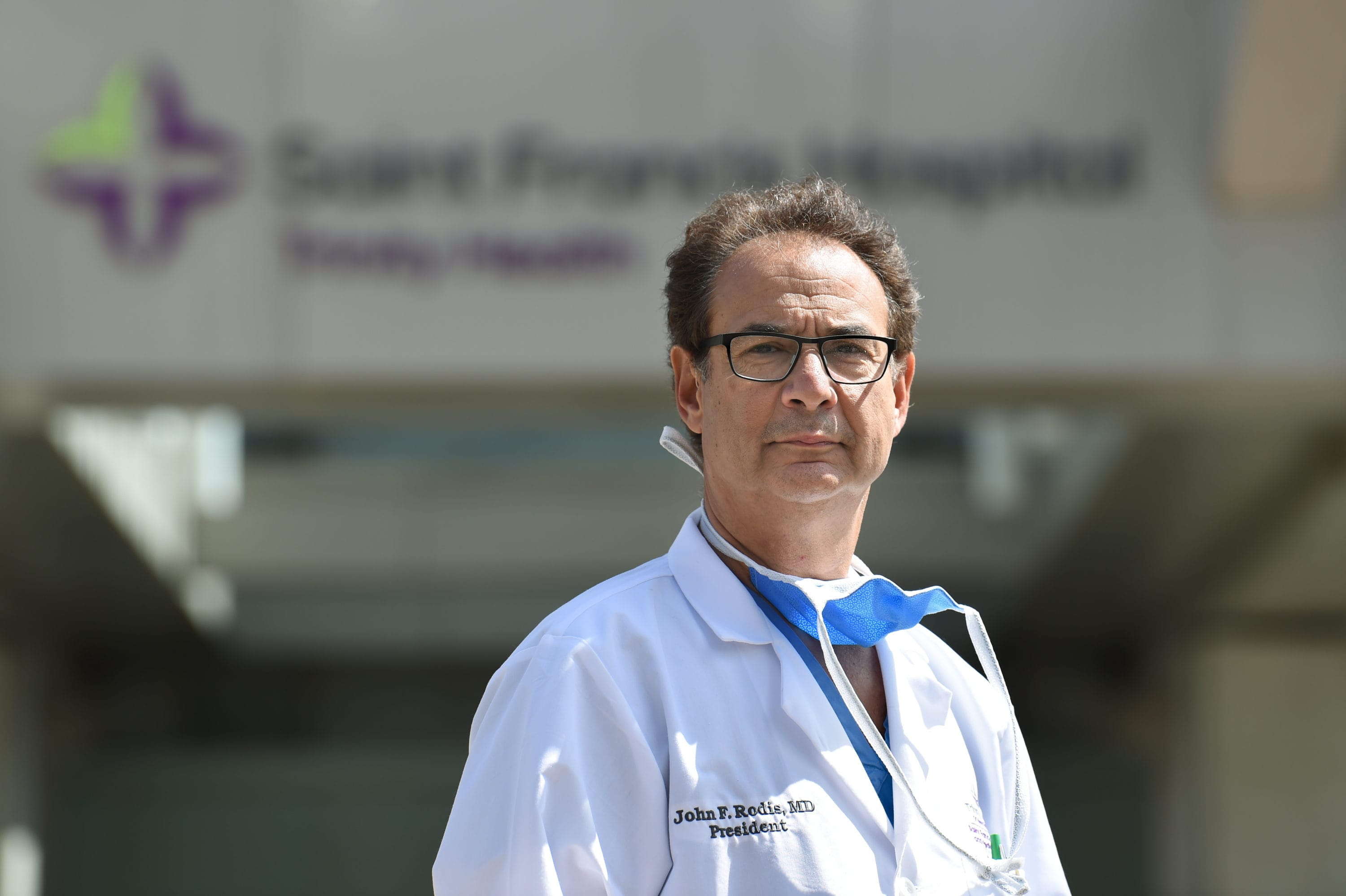 'We'll get through this.' Head of Saint Francis Hospital talks about management in a time of crisis