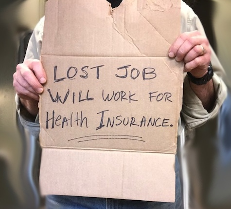 CT residents losing health coverage as they lose their jobs in the pandemic