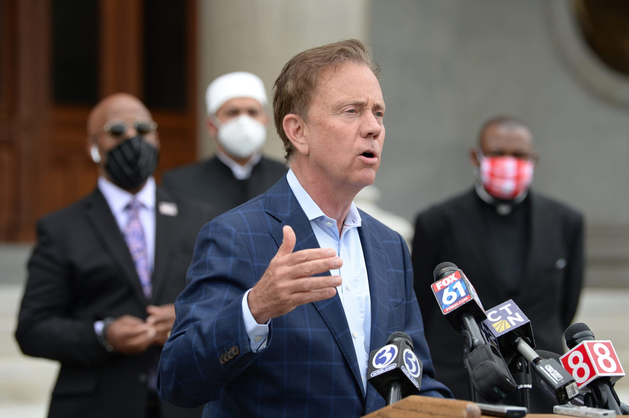 Lamont says Connecticut's COVID-19 hospitalizations dropped dramatically
