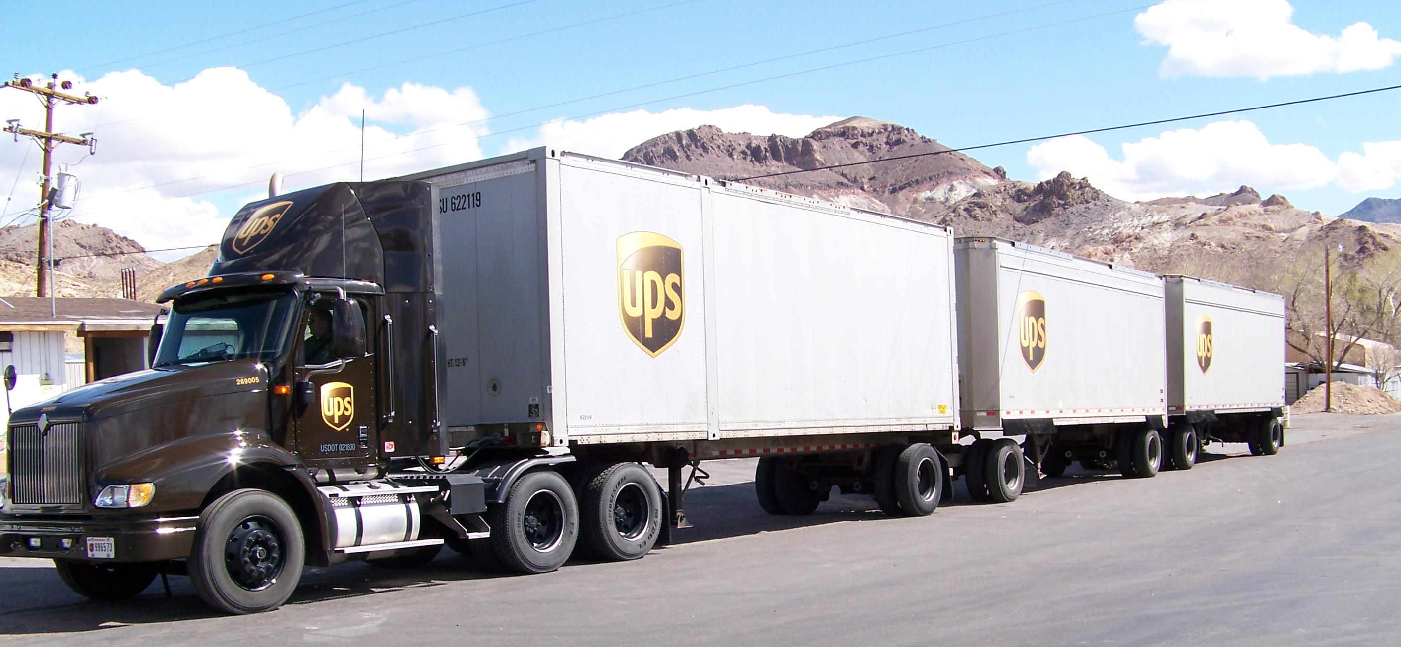 The United Parcel Service is busier than ever