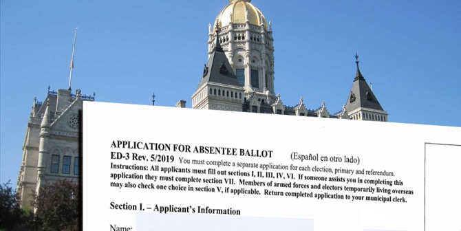 On easing absentee voting, Connecticut looks to November and beyond