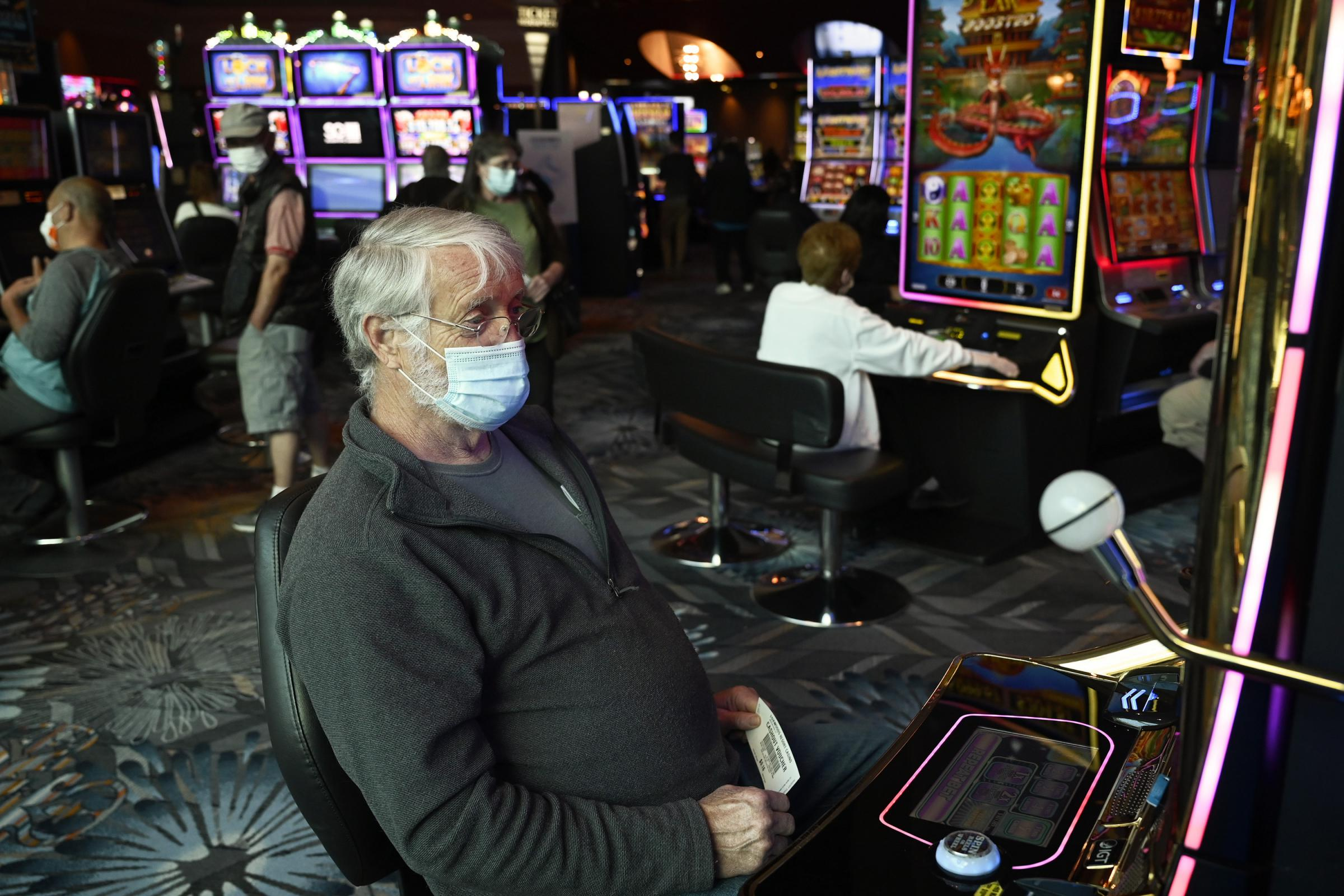 Connecticut casinos show glimpse of new normal upon re-opening
