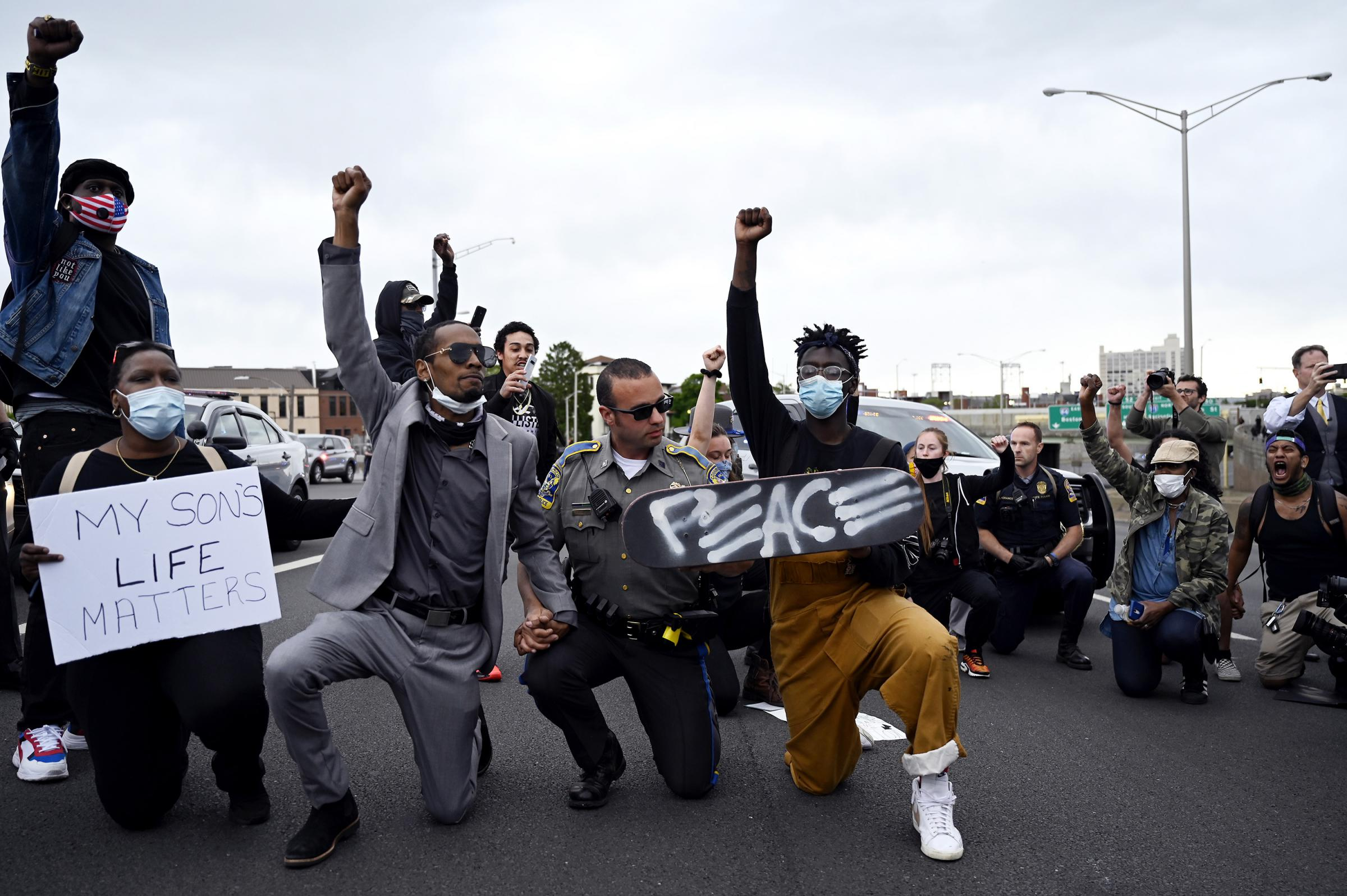 Hartford continues to protest the killing of George Floyd
