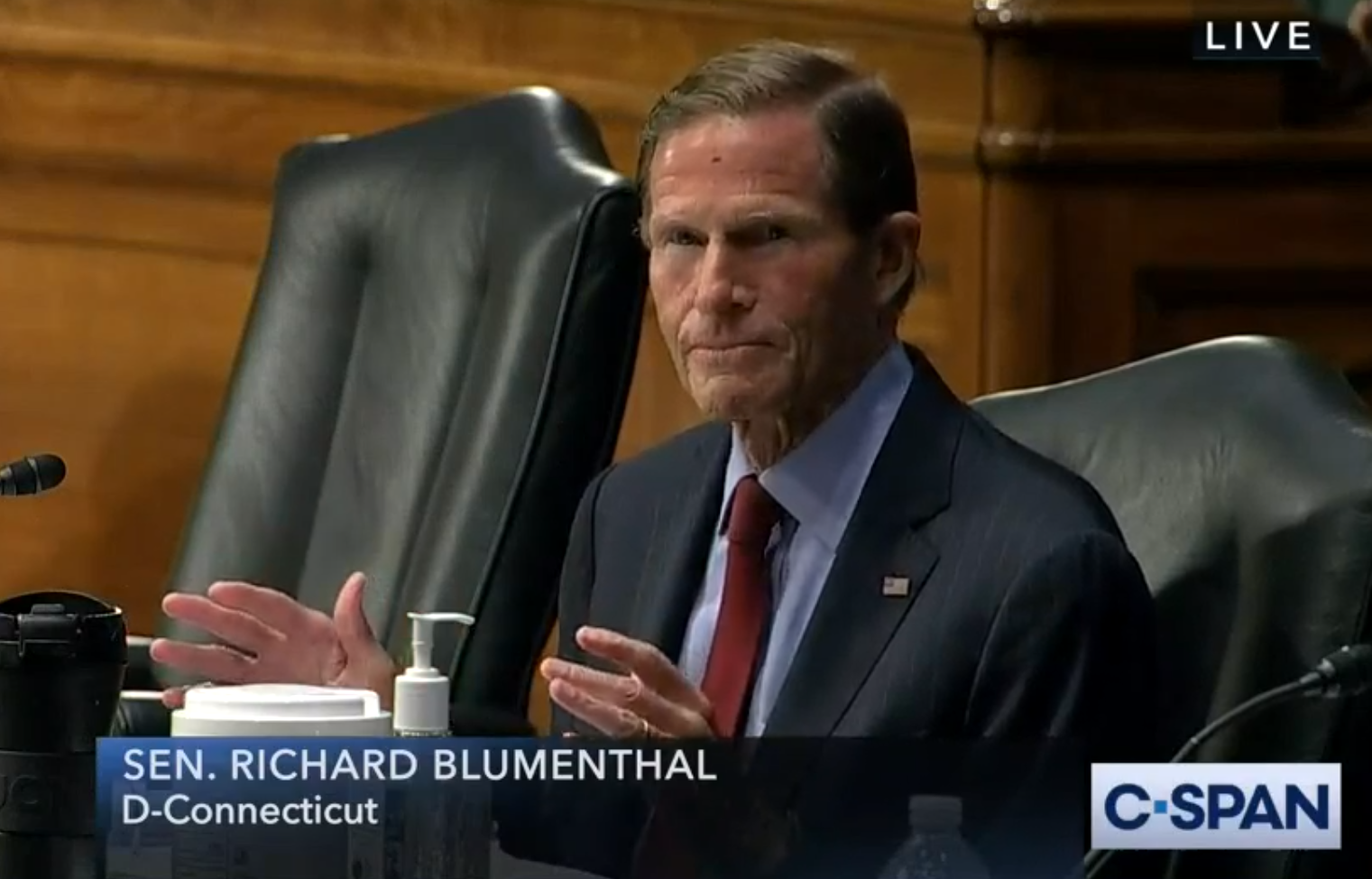 Blumenthal, Judiciary panel colleagues, tackle police reforms