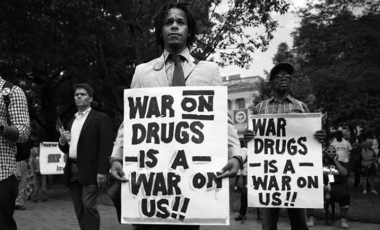 The war on drugs is a platform for racial inequality and unchecked police brutality
