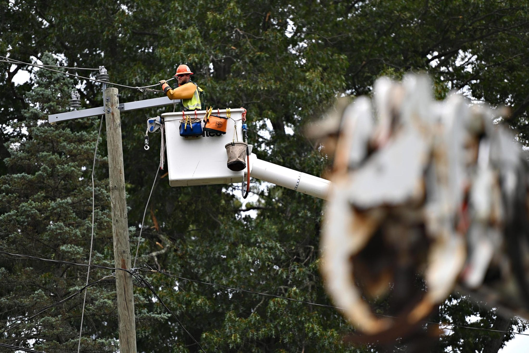 Energy bill takes on storm response and grid reform challenges