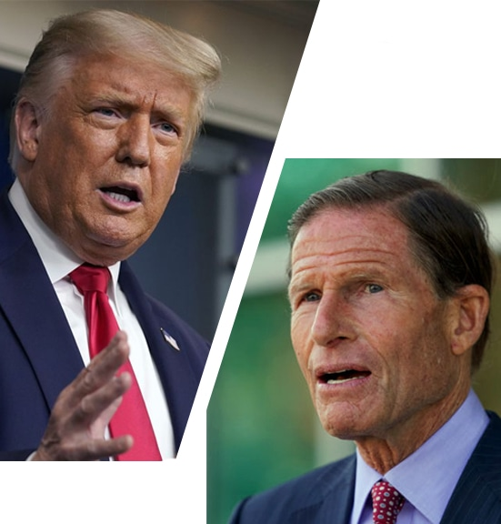 Trump slams Barrett critic Blumenthal, says senator should be 'impeached'