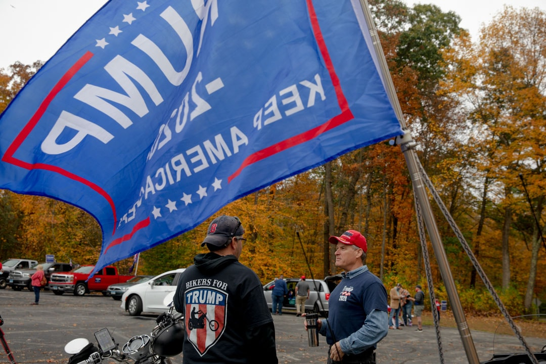 Risk and reward: Flying the Trump flag in Connecticut