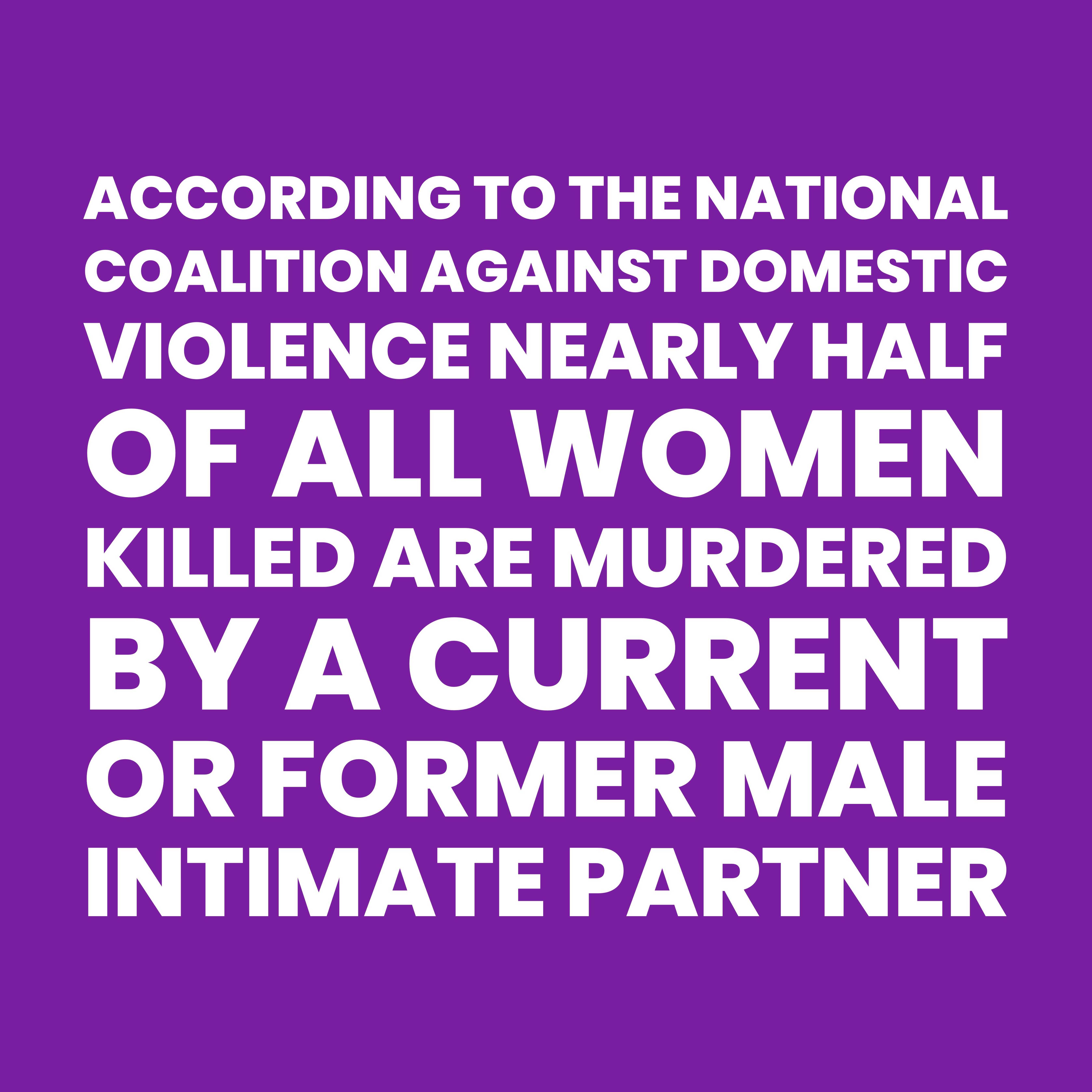 Domestic violence is a public health crisis