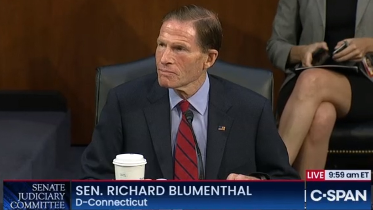 Blumenthal tries to stall Barrett confirmation, but procedural move fails