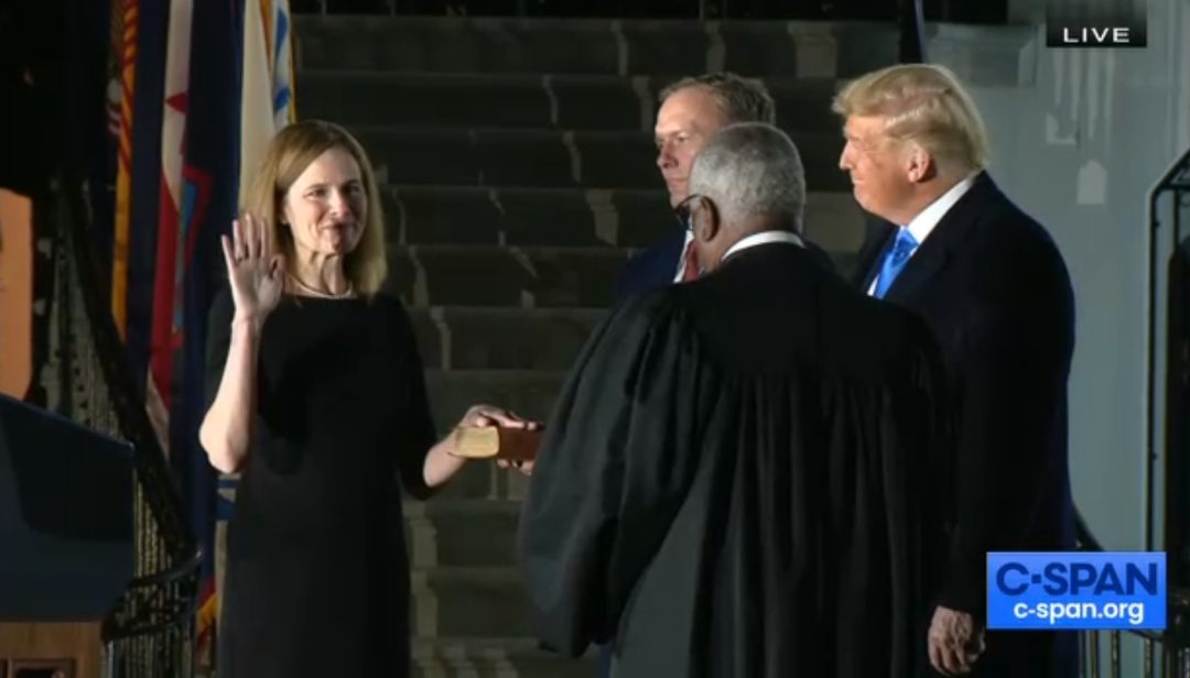 Senate confirms Amy Coney Barrett to the Supreme Court; Sen. Blumenthal says day was 'sad, surreal'