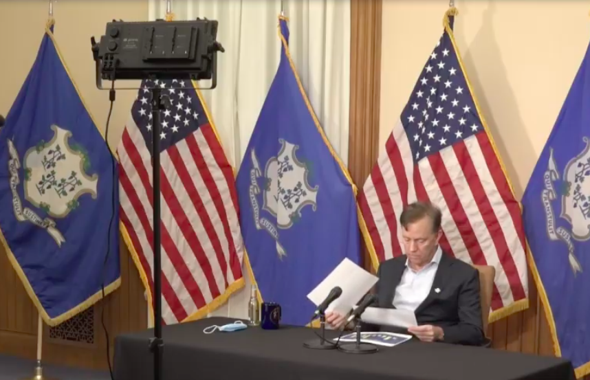 No 'mission accomplished,' but Lamont suspends COVID briefings