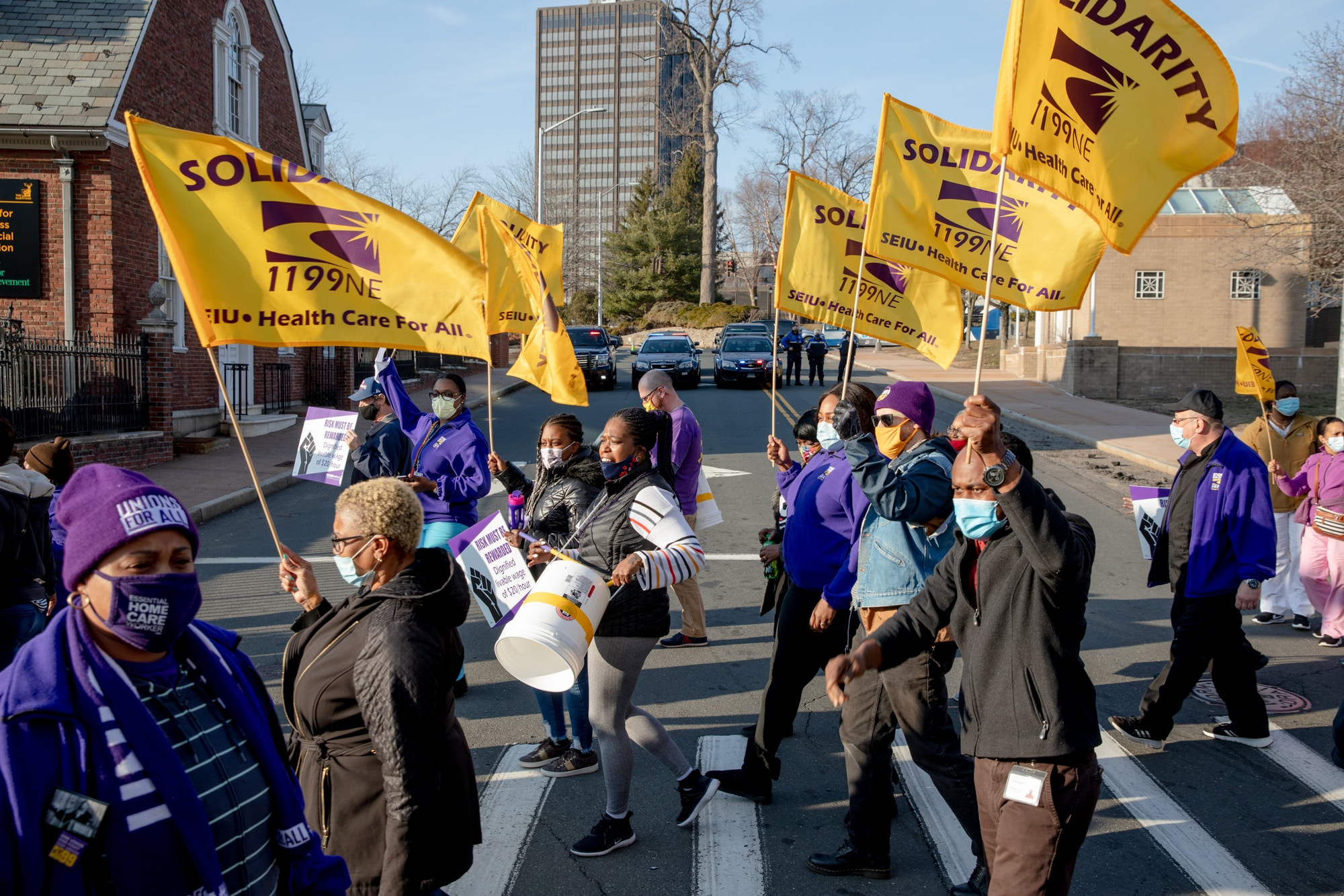 Union warns nursing homes that thousands of workers are prepared to strike