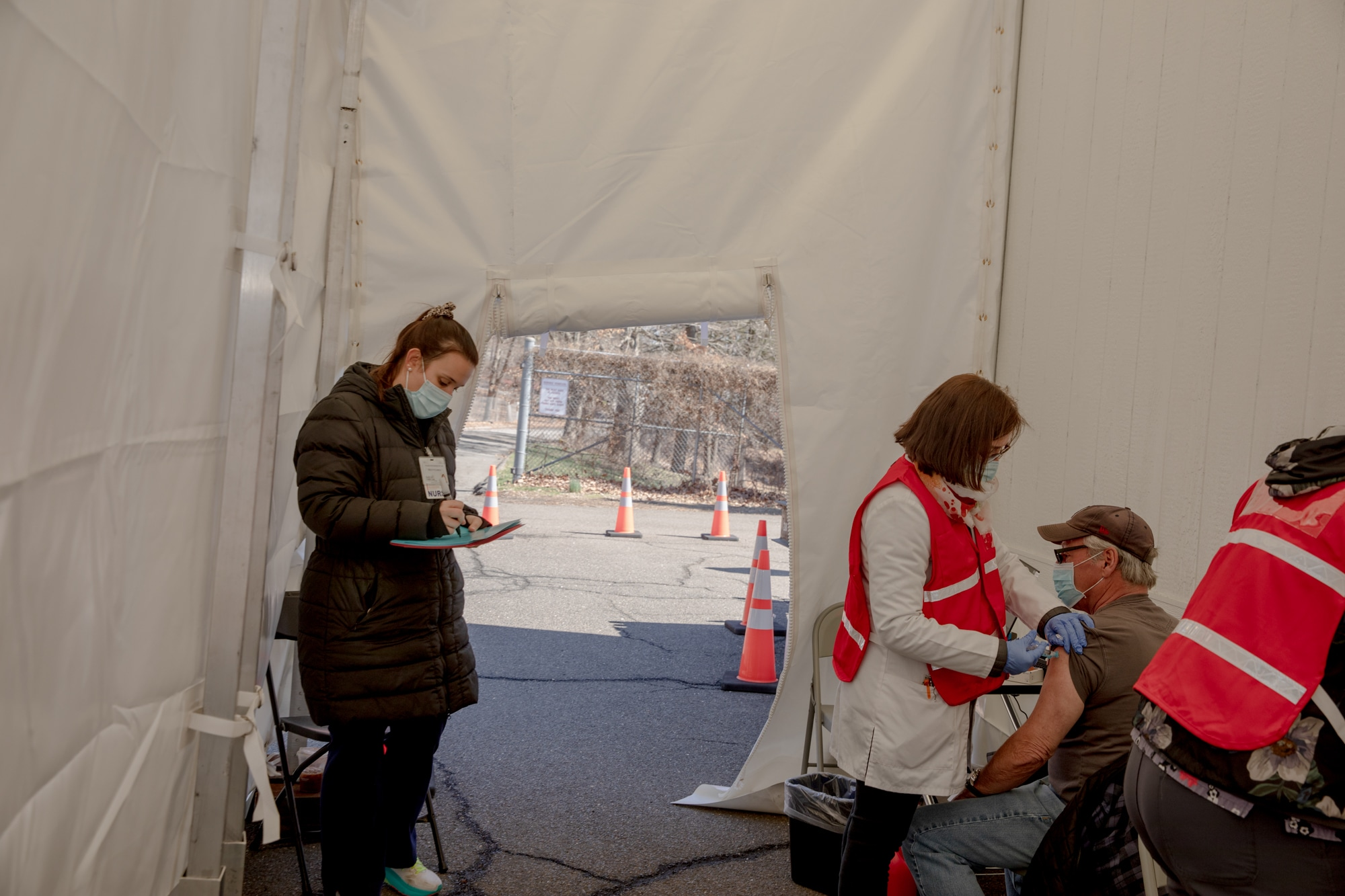 This tiny CT town has only one place to get the COVID vaccine. So the FEMA trailer is on the way to help.