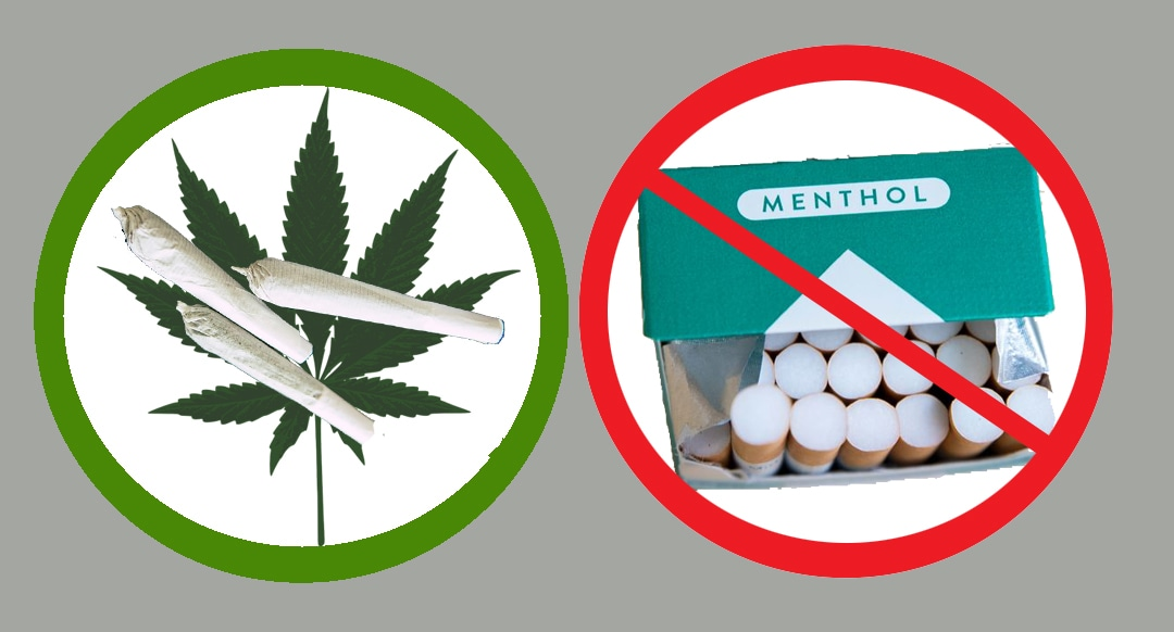 Mixed signals on age-restricted projects: marijuana is okay, but menthol is not?