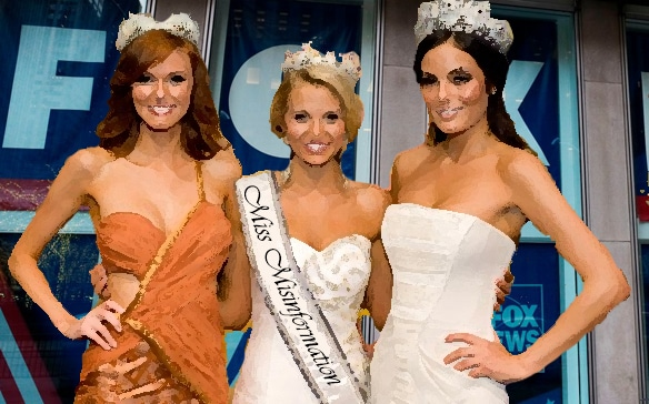 Miss Misinformation is the pageant for me