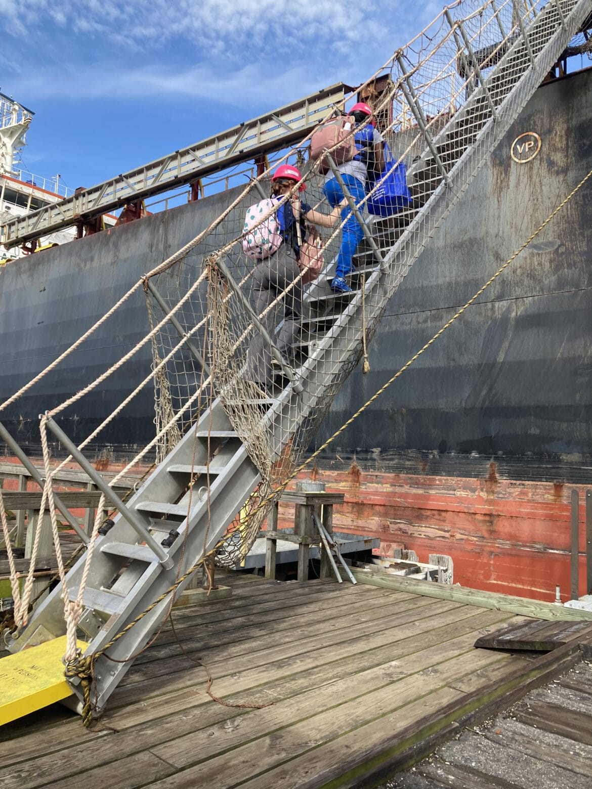 Cornell Scott-Hill Health Center nurses make steep climb to vaccinate seafarers