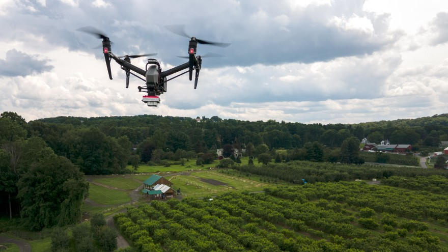 Drones could help farmers keep a watchful eye on crop health