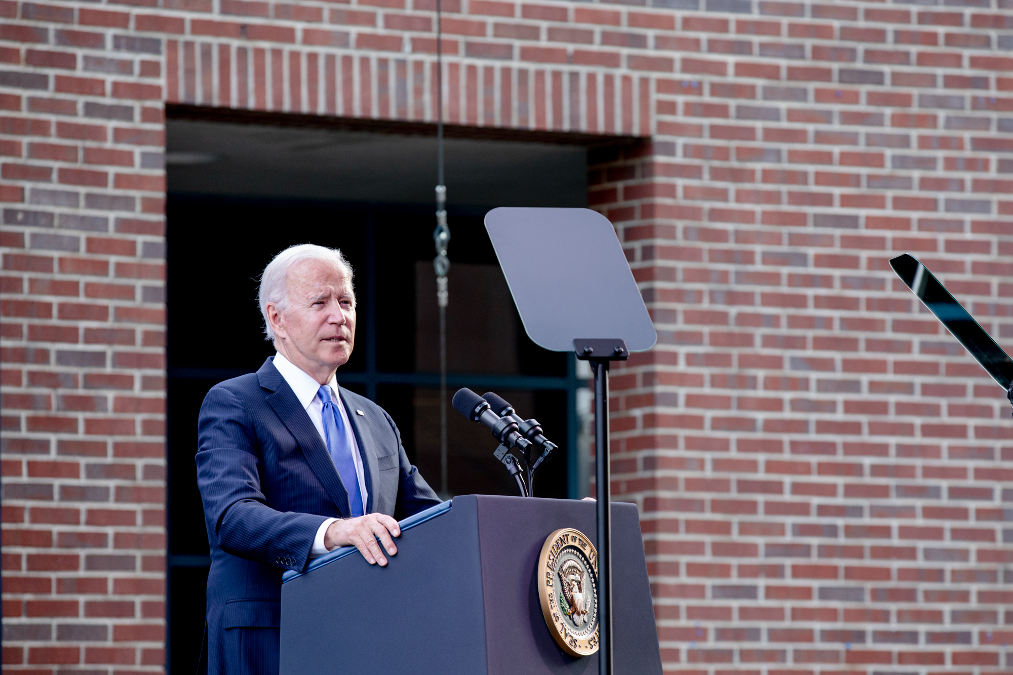 President Joe Biden comes to Connecticut for a friend, and human rights