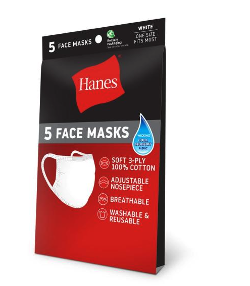 Hanes got out of the mask business. Connecticut is trying.