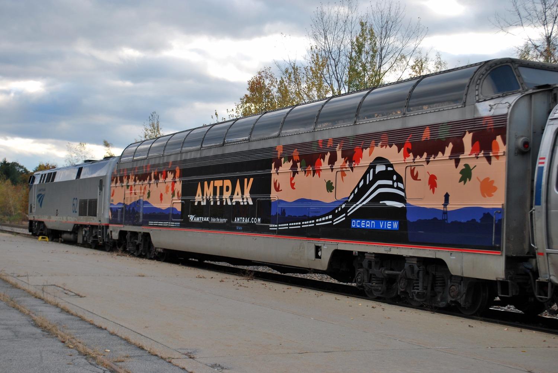 Enjoying Vermont by train